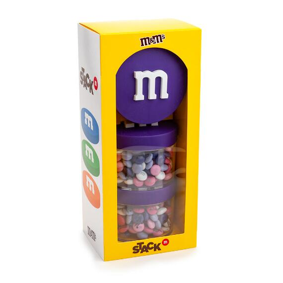 Purple Stack 'm M&M'S® Gift Box