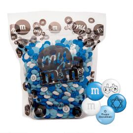 Hanukkah M&M'S® Candy (2-lb Bag)