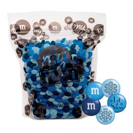 """Let It Snow"" M&M'S® Candy Blend (2-lb Bag)"
