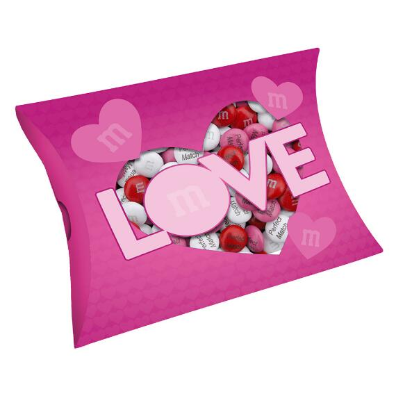 Pink Love Gift Box with Personalized M&M'S®