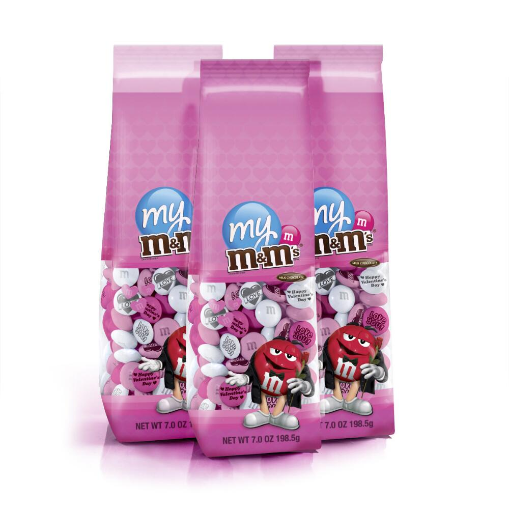 Personalized M&M\'S® Romantic Candy Bags | MyMMS.com from My M&M\'S®
