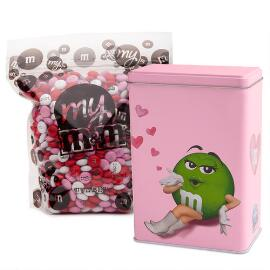 Green M&M'S® Character Tin