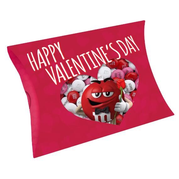 Happy Valentine's Day Gift Box Red Character