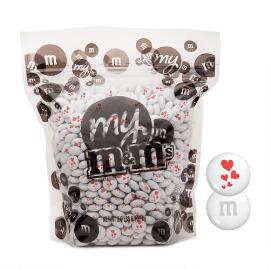 MY M&M'S® Red Hearts Blend 2-lb (907g) Bulk Bag