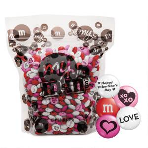 My M&M'S® Valentine's Blend 2-lb Bulk Bag