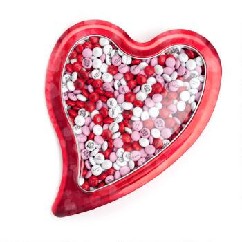 Large Red Heart M&M'S Gift Tin