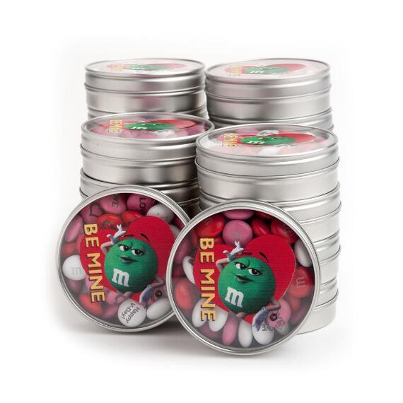 Valentine Green Character Be Mine Favor (20 Tins)