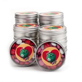 Valentine Green Character Favor (20 Tins)