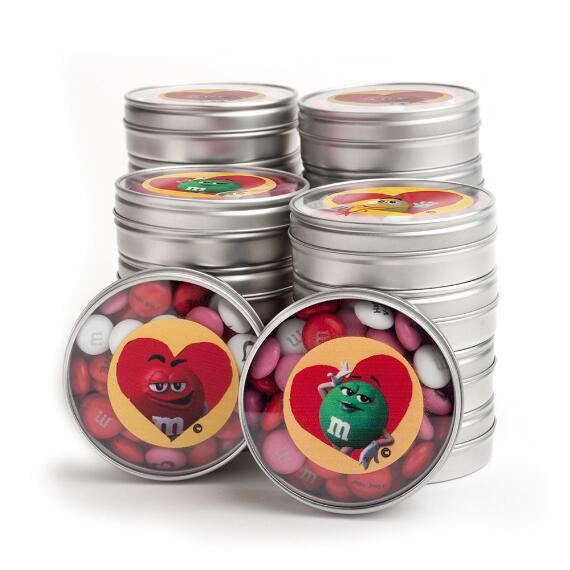 Valentine M&M'S® Character Favor (20 Tins)