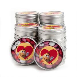 Valentine Yellow Character Favor (20 Tins)