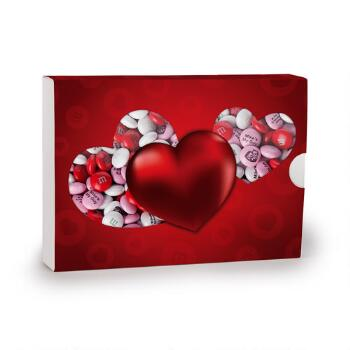 Trinity Heart Box with Personalized M&M'S® Candies