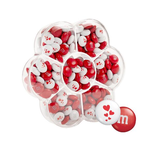 Flower Candy Box with Red & White M&M'S®